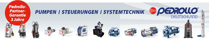 Pedrollo Automatische Druckerhöhungssysteme mit Frequenzumrichter