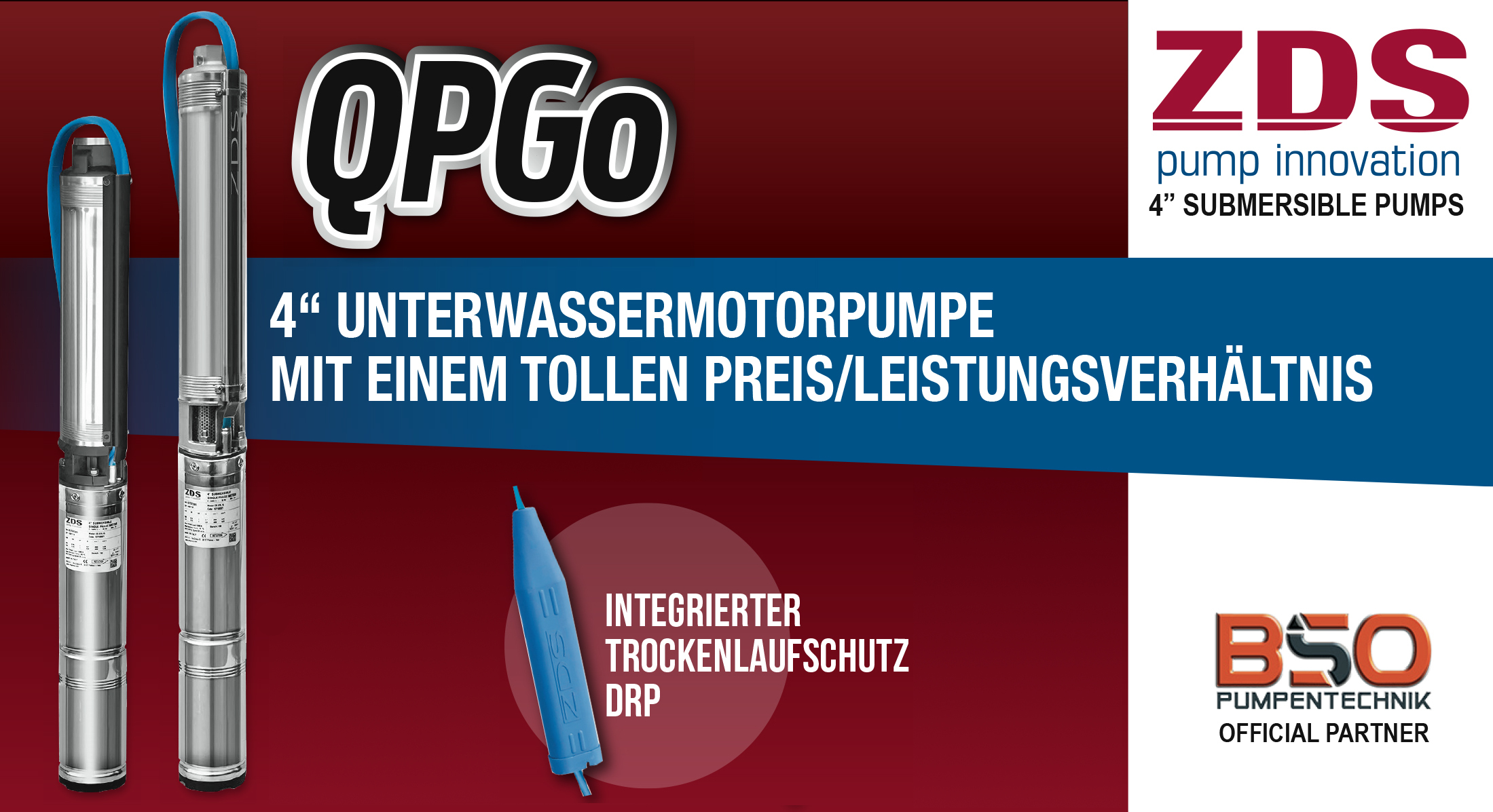 Tiefbrunnenpumpen-ZDS-Sonderangebote Banner