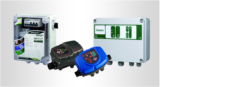 Schalt- und Steuergeräte für Pumpen